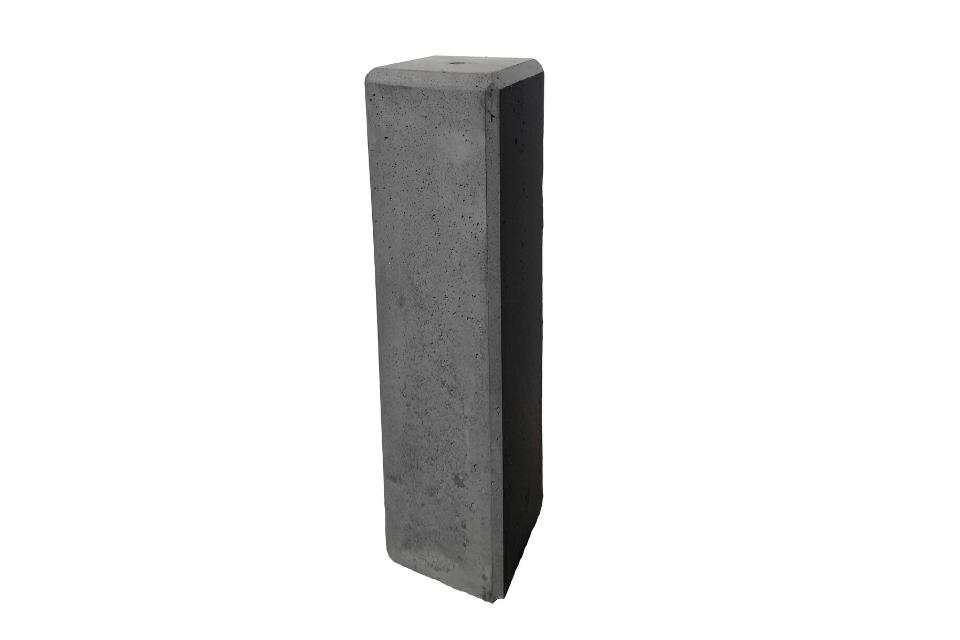 Betonpoer 12x12x50 cm antraciet